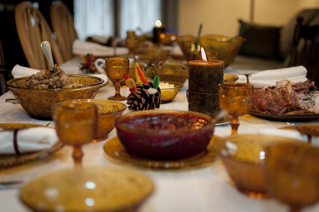 Tips for Setting Your Thanksgiving Turkey Table