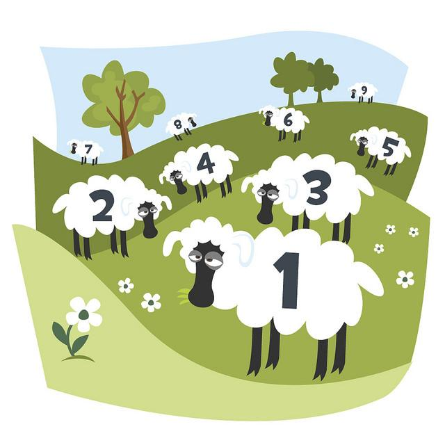 Can occupying your mind with sheep help you fall asleep?