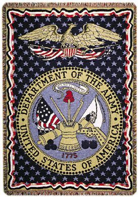 Army Tapestry Throw Blanket