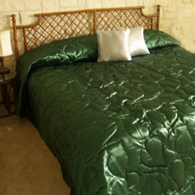 Chintz Quilted Bedspread