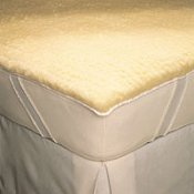 SnugFleece II King Wool Mattress Pad