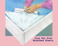 Waterbed Pole Pocket Sheets
